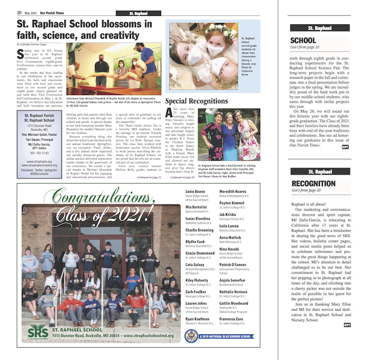 May 2021 Our Parish Times