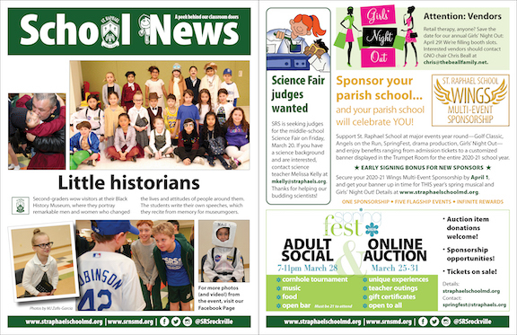 March 1 School News