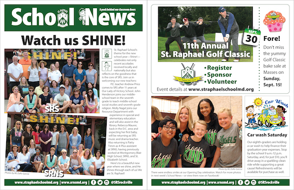 Sept. 8 School News