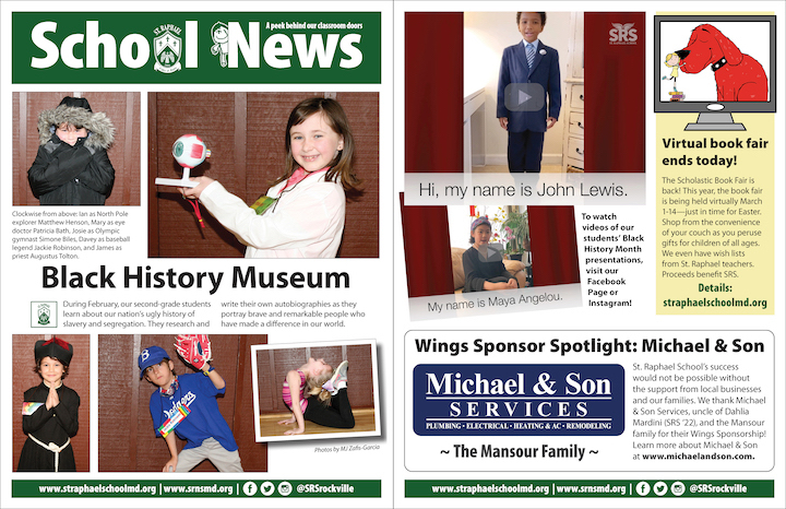 School News: March 14, 2021