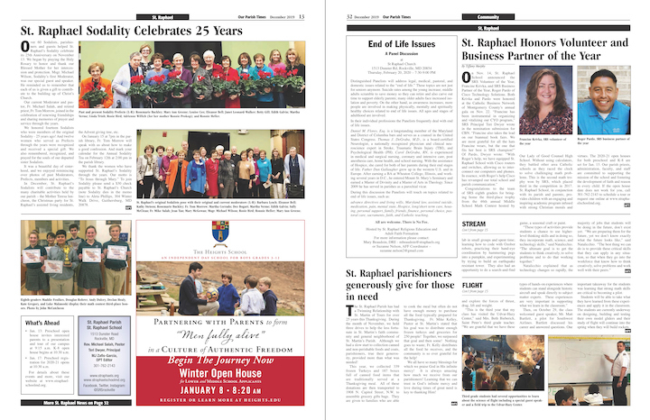 December 2019 Our Parish Times