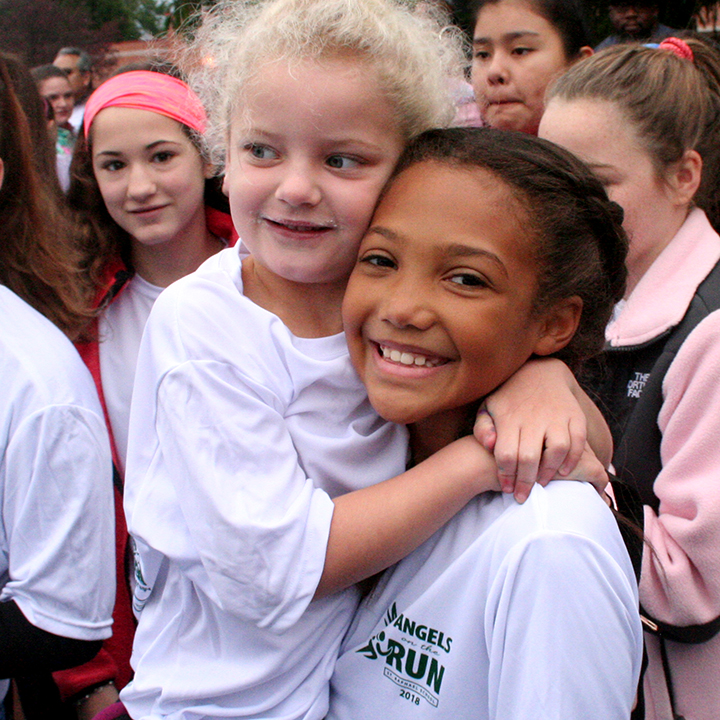Students at Angels on the Run