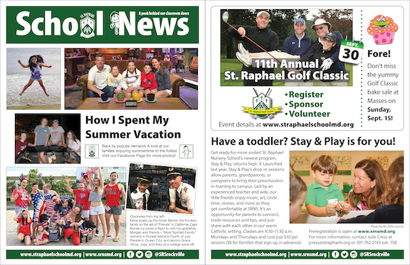 Sept. 1 School News