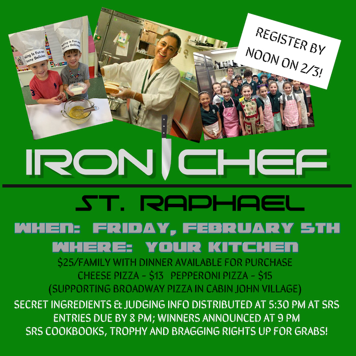 Flyer for Iron Chef contest