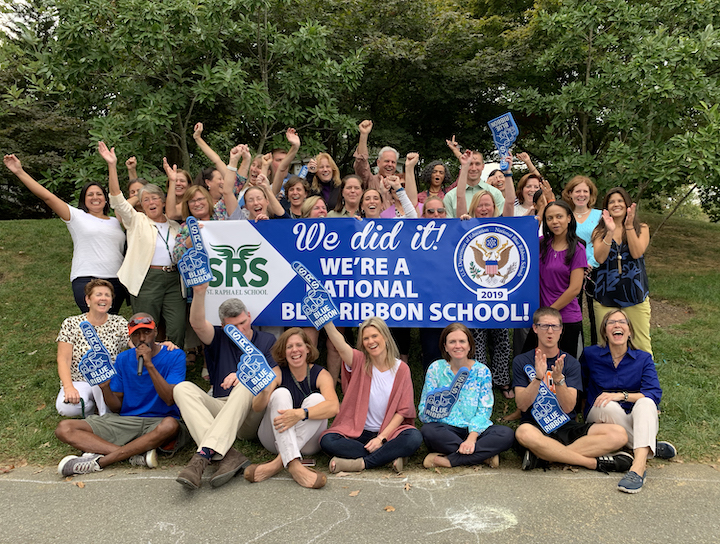 St. Raphael School Lands 2019 Blue Ribbon!