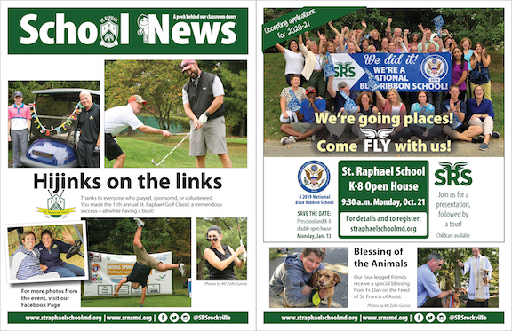 Oct. 20 School News