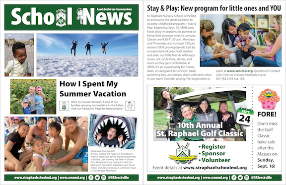 Sept. 2 School News