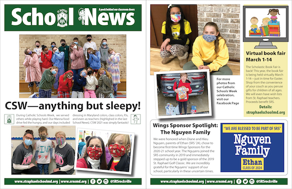 Feb. 28 School News
