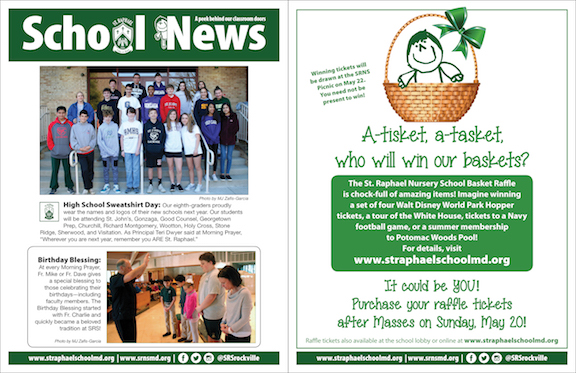 May 6 School News