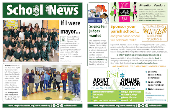 March 8 School News