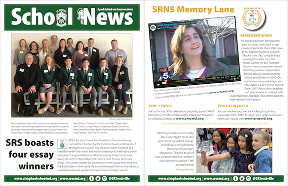 April 28 School News