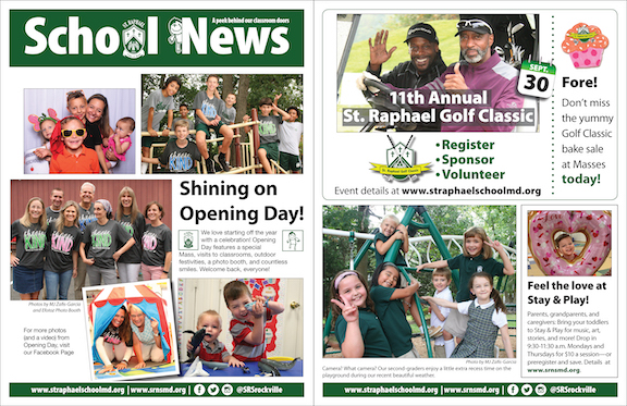 Sept. 15 School News