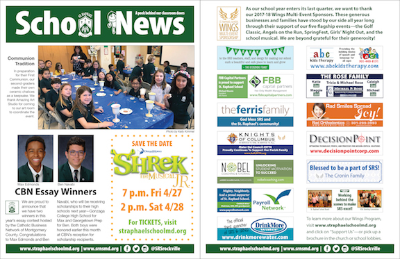 April 22 School News