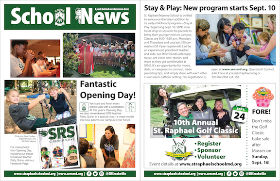 Sept. 9 School News