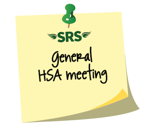 General HSA Meeting March 13