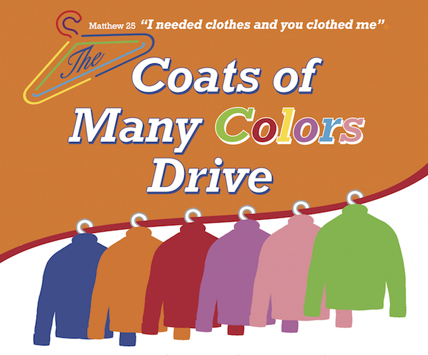 Coats of Many Colors Drive Jan. 16-18