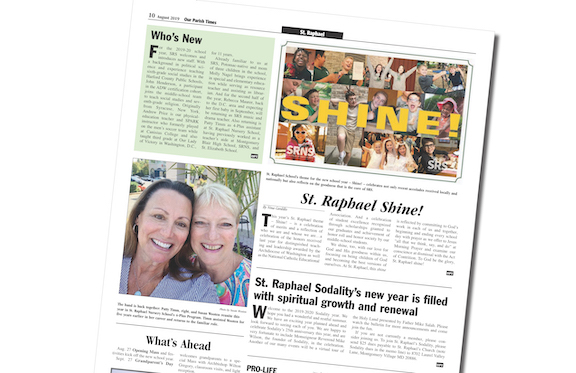 August 2019 Our Parish Times