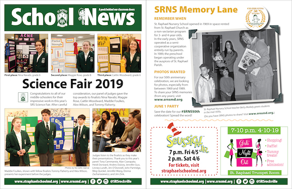 March 31 School News