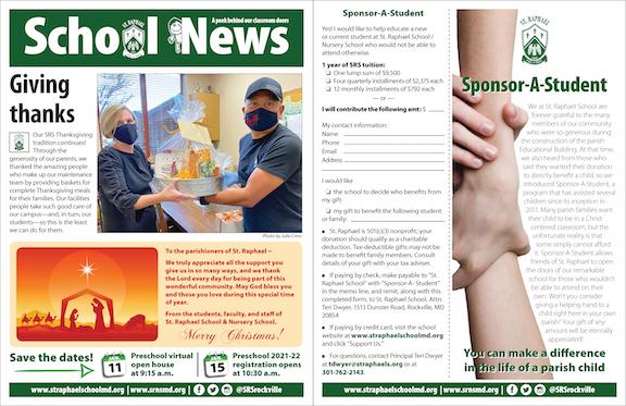 Dec. 20 School News