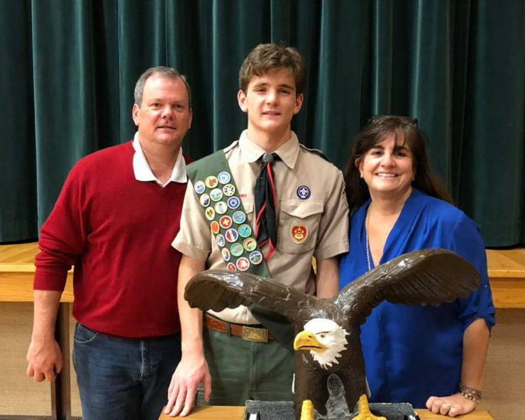 Aldridge Earns Eagle Scout Honors