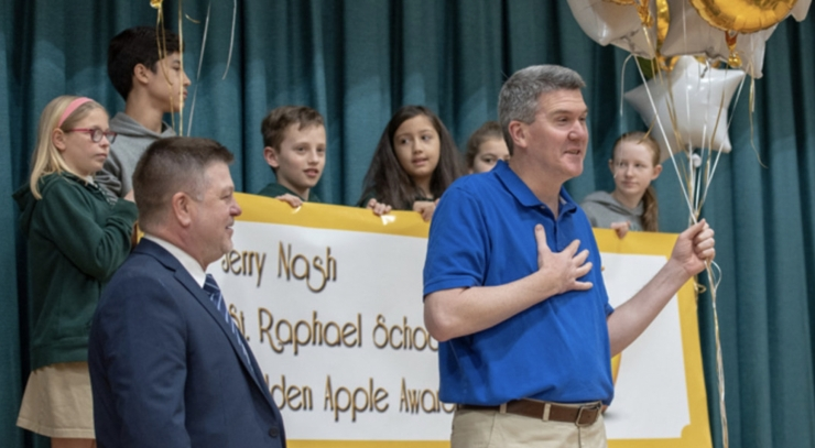 Nash Makes Catholic Standard